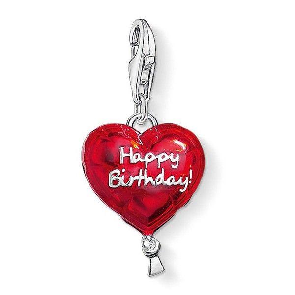 подвеска Thomas Sabo Happy Birthday 1286 007 10 Thomassabo Shop Com Ua