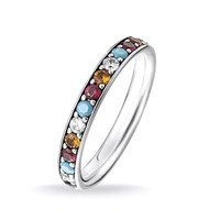 Фото Кольцо Thomas Sabo Colourful Stones TR2178-342-7-52